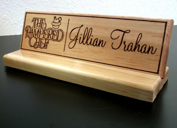 Office Name Plates: Items Similar To Custom Office Name Desk Sign Plate On Etsy