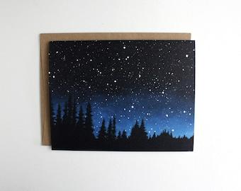 Night Sky Card