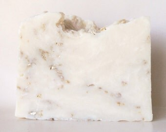 Unscented Oat Aloe Shea Soap, Aloe Juice and Shea Butter with Oat Castile Soap