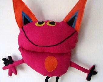Custom softies, stuffed dolls and animals made from children's artwork - medium price range