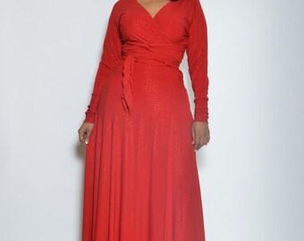 Diva Wrap Dress