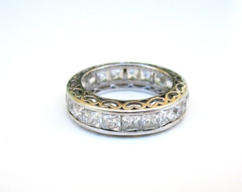 Sterling Silver Infinity Band Size 5