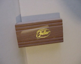 Fuller Brush Co Cedar Block Closet Drawer Vanity Cedar Chest Salesman Sample