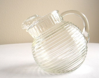 Manhattan Pitcher - 24 oz - Clear Glass