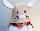 Bunny rabbit kids costume hat