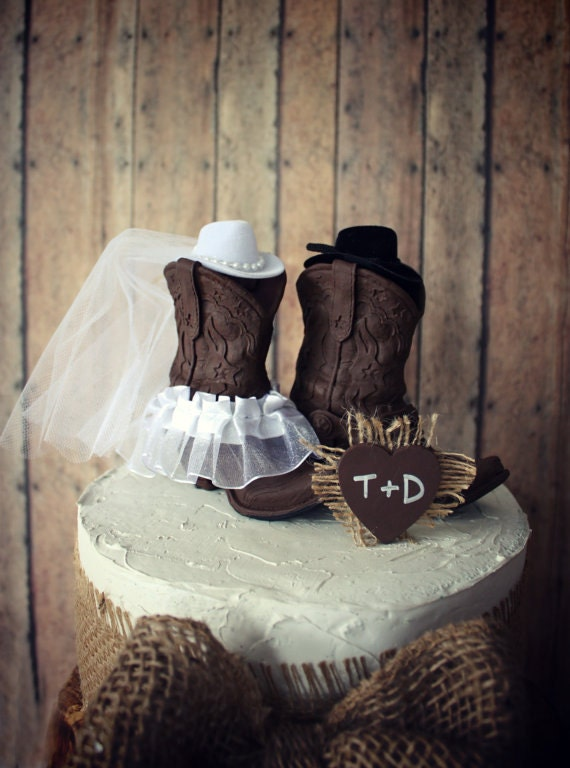 Cowboy Boots Cowgirl Boots Wedding Cake By Morganthecreator