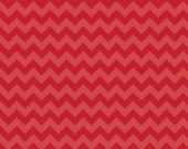 Red Tone-On-Tone Small Chevron From Riley Blake