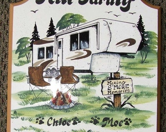 camping signs, FIFTH WHEEL