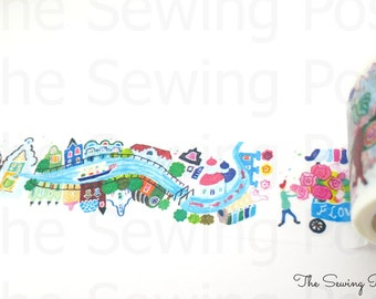 Washi Tape: Canal Town