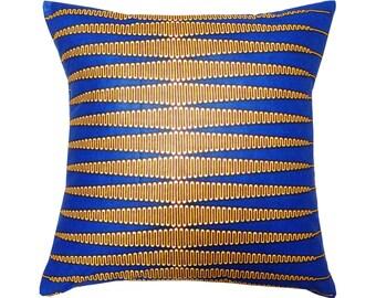 NKRUMAH African Wax Print Pillow covers