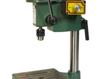 Benchtop Drill Press - Compact to Fit on Your Bench - Use For Drilling Holes In Metal - Metal Working Jewelry Tool