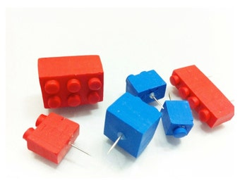 Lego Thumbtacks for your Memo Board