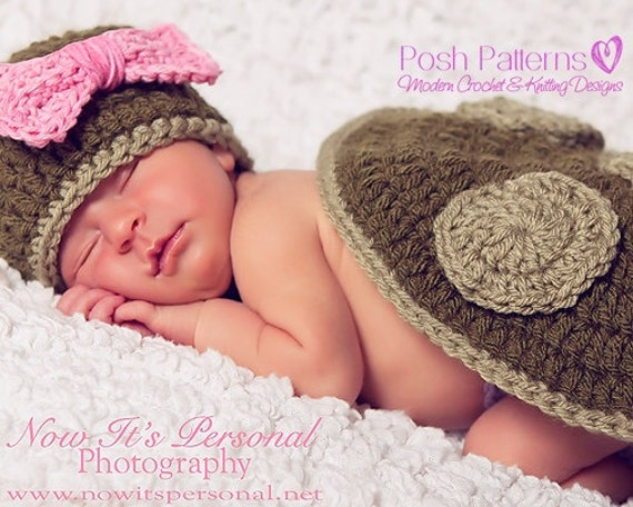 Crochet PATTERN - Newborn Turtle Hat and Shell Little Pattern Set - Photo Prop Pattern - PDF 160