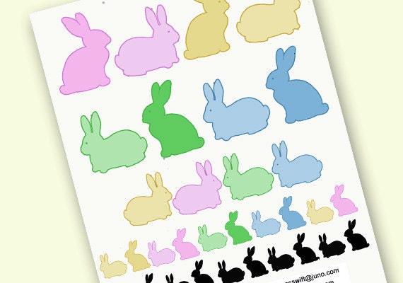easter bunny clipart easter clip art rabbit clip art pastel rh etsystudio com easter bunny clipart in black & white easter bunny clipart free download