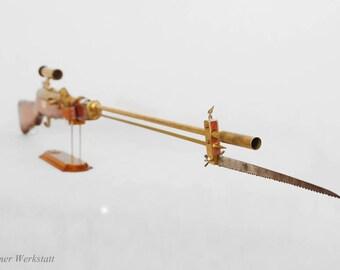 Steampunk Long Rifle
