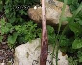 Norse priestess wand - Eihwaz guardian Spirit - Yew Tree Gift