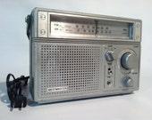 Westminster Radio boom box stereo speakers vintage batteries cord