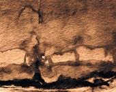 Sepia Abstract 1