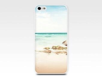 nautical iphone case5s  beach scene iphone 6 case iphone 4s case coastal iphone case 4 iphone case 5 ocean iphone case pastel beach girly