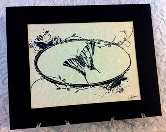 Pen and Ink Butterfly