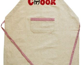 Smart Playful Mans No-Fuss MR C(r)OOK APRON