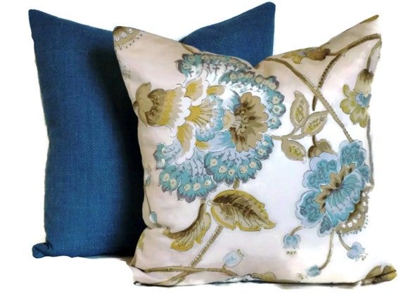 Jacobean Decorative Pillows : Duralee Jacobean Decorative Pillow Throw Pillow Pillow Cover