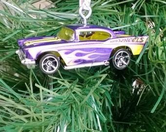 57 Chevy Custom Hot Wheels ornament