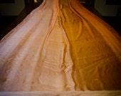Belly Dance Iridescent Silk Chiffon Peach Gold Copper Ombre CUSTOM ORDER