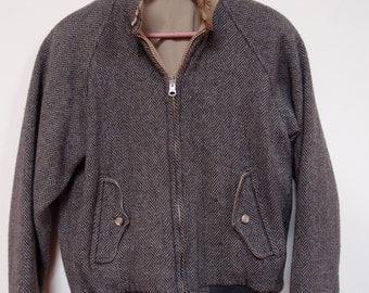 Vintage Womens Lands' End Herringbone Jacket