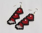 Legend of Zelda - Heart Health Bar Earrings