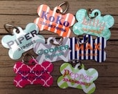 Personalized Dog Tag - Custom Pet Name Tag- Design Your Own