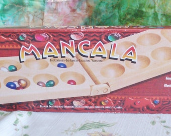Mancala a Game for 2 to 6 Players