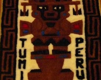 Tumi Peru Wall Hanging For Good Luck!