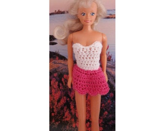 Barbie summer dress crochet, Barbie clothes, Barbie Fashion