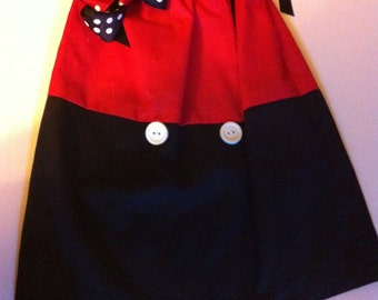 MICKEY MOUSE dress and bow