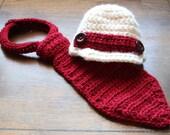 Crochet Baby Boy Photo Prop
