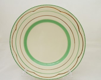 Royal Staffordshire Ceramics by Clarice Cliff, Staffordshire Plate, UK Seller