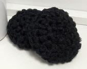 Nylon Dish Scrubbies, Pot Scrubbers, Crochet Scrubbies, Reusable Scrubby, Eco Friendly Kitchen Scrubber, Black Pot Scrubbies, Set of 2