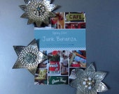 Vintage 3 Holiday Sparkle Ornaments