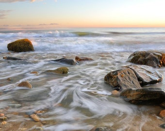 Philbin Beach, Aquinnah Martha's Vineyard Sunset 7- Fine Art Print