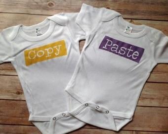 Copy Paste Twin one piece Set (Custom Colors)