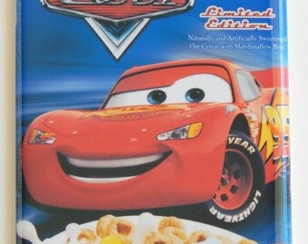 Cars Cereal Box Fridge Magnet