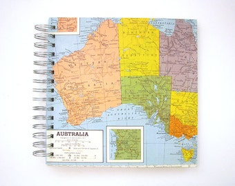 Travel Journal of Australia, Sydney, Melbourne, Perth - Customized Travel Gift
