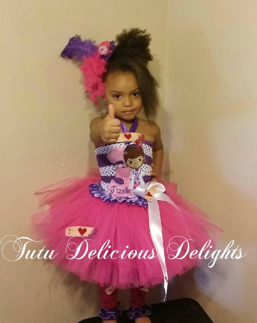 Doc McStuffins Tutu Dress The Doc Is In Doc McStuffins