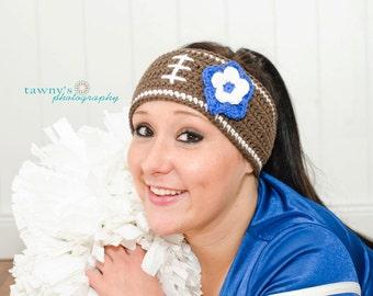 Crochet Football Headband Pattern