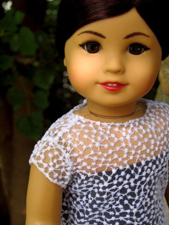 american girl doll dress: anne