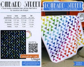 Sassafras Lane Designs - Lombard Street Quilt Pattern