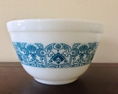 Vintage Pyrex Horizon Blue #401 Mixing Bowl