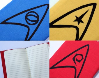 Star Trek Inspired Journal / Notebook Cover