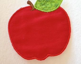 Apple Iron on Appliqué Patch